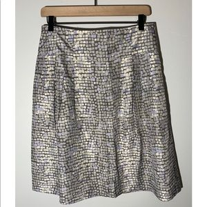 Banana Republic 100% Silk Mini Skirt